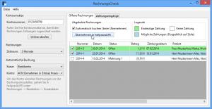 RechnungsCheck-Screenshot